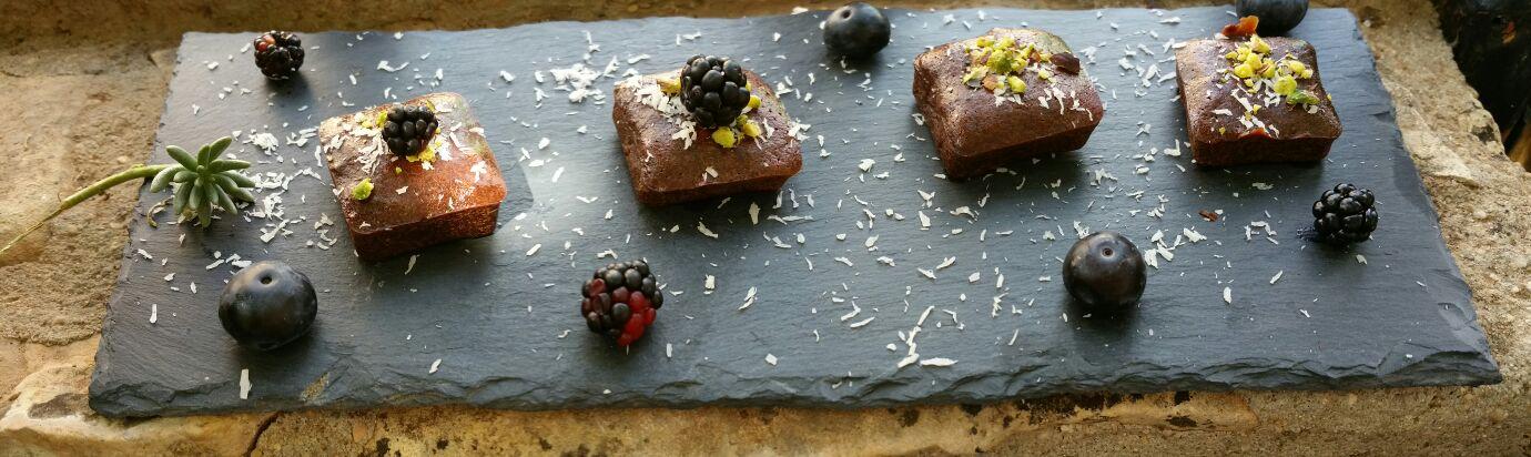 Mini brownies cool saludables